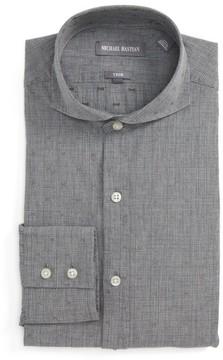 Michael Bastian Men's Trim Fit Glenn Plaid Dress Shirt