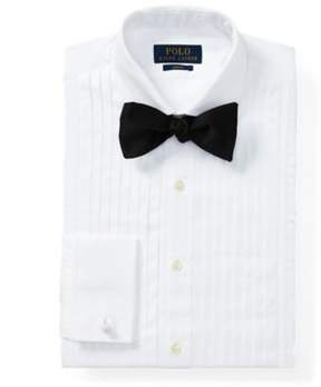 Ralph Lauren Slim Fit Cotton Tuxedo Shirt White 15