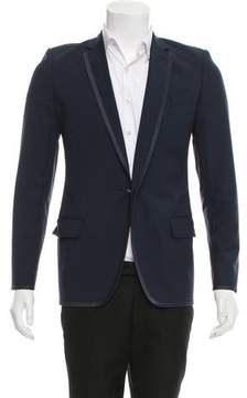 Louis Vuitton Satin-Trimmed Wool Blazer