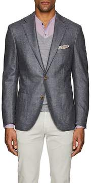 Luciano Barbera Men's Silk Hopsack Two-Button Sportcoat