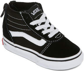 Vans Ward Hi Boys Skate Shoes - Toddler