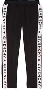 Givenchy Kids' Logo Tech Jersey Track Pants