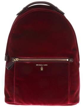 MICHAEL Michael Kors Kelsey Red Nylon Backpack