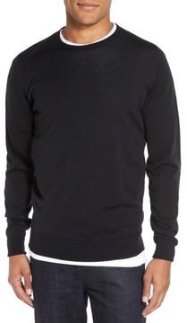 John Smedley Men's 'Marcus' Easy Fit Crewneck Wool Sweater