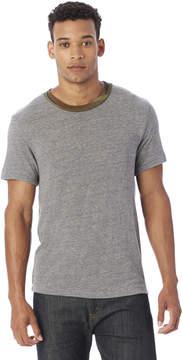 Alternative Apparel Eco-Jersey Camo Neckband Crew T-Shirt