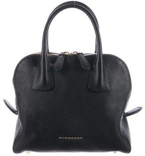 Burberry Small Greenwood Bowling Bag - BLACK - STYLE