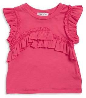 Flapdoodles Little Girl's Ruffled Sleeveless Top