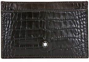 Montblanc Meisterstuck 2CC Pocket Holder- Mocha