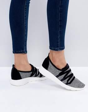 New Look Velvet Lace Up Sneaker