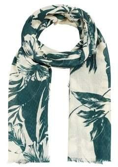Violeta BY MANGO Jungle printed foulard