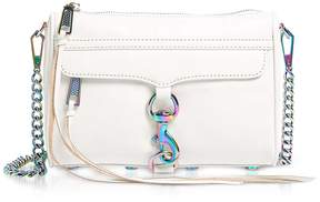 Rebecca Minkoff Bianco Mini Mac Clutch/shoudler Bag - WHITE - STYLE