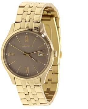 Bulova Caravelle New York Men's 44B111 Gold Tone Stainless Steel Analog Watch