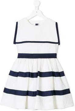 Oscar de la Renta Kids a-line sailor dress