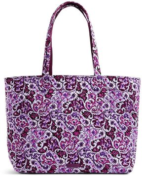 Vera Bradley Iconic Grand Tote - LILAC PAISLEY - STYLE