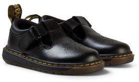 Dr. Martens Black Dulice Toddler Leather Shoes