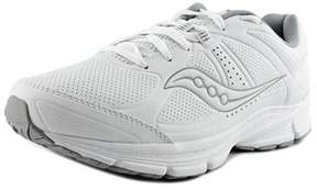 Saucony Grid Momentum Round Toe Leather Sneakers.
