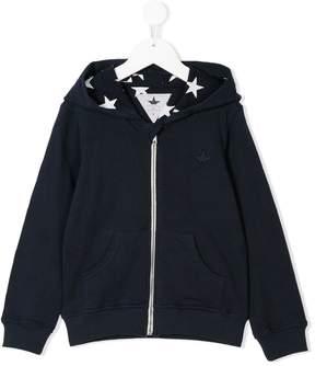 Macchia J Kids star print hoodie