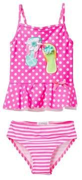 Flapdoodles Flip Flip 2-Piece Swimsuit (Toddler Girls)