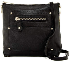 ERIC JAVITS Zip Lark Coated Canvas Crossbody