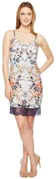 Adelyn Rae Lydia Woven Printed Slip Dress Women's Dress