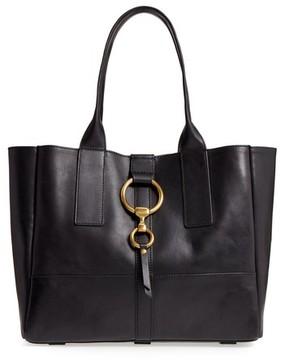 Frye Ilana Harness Leather Shopper - Black