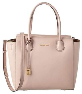 MICHAEL Michael Kors Mercer Large Leather Satchel. - PINK - STYLE