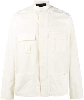 Haider Ackermann White Gardone Military Overshirt