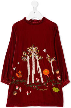 Simonetta embroidered dress