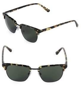 Zac Posen Filip 49MM Clubmaster Sunglasses