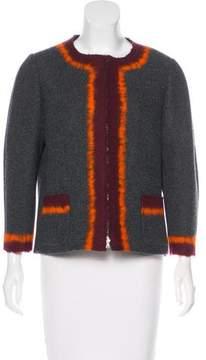 Aquilano Rimondi Aquilano.Rimondi Collarless Wool Jacket