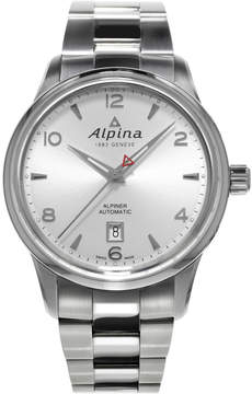 Alpina Alpiner Automatic Silver Dial Stainless Steel Men's Watch