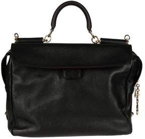 Dolce & Gabbana Clear Tote - BLACK - STYLE