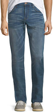 Joe's Jeans Slim-Fit Straight-Leg Faded Jeans