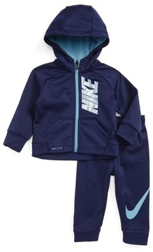 Nike Infant Boy's Therma-Fit Fleece Hoodie & Pants Set