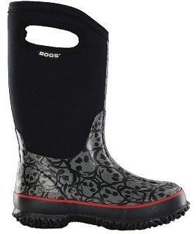 Bogs Kids' Skulls Waterproof Winter Boot Toddler/Pre/Grade School