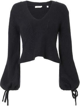 A.L.C. Schwartz Tie Sleeve Sweater