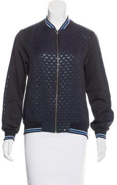 Clover Canyon Patterned Zip-Up Jacket