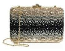 Judith Leiber Couture Slim Slide Ombre Crystal Clutch