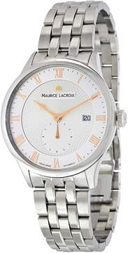 Maurice Lacroix Masterpiece Silver Dial Automatic Men's Stainless Steel Watch
