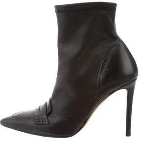 Altuzarra Pointed-Toe Ankle Boots