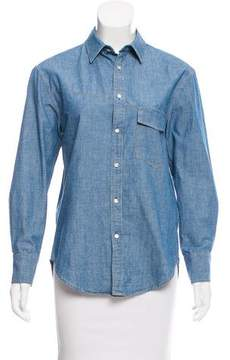 Boy By Band Of Outsiders Denim Button-Up Top