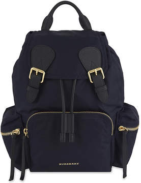 Burberry Medium nylon backpack - INK BLUE - STYLE