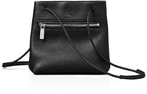 Shinola Mini Leather Drawstring Bag