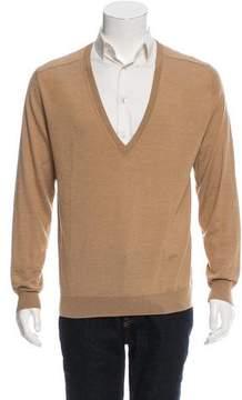 Dries Van Noten Wool V-Neck Sweater