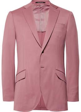 Richard James Pink Seishin Slim-Fit Wool Suit Jacket