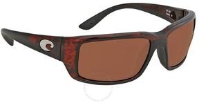 Costa del Mar Fantail Tortoise Medium Fit Sunglasses TF 10 OCP