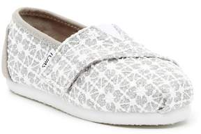 Toms Lace Glimmer Alpargata Shoe (Toddler & Little Kid)