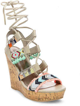 Madden-Girl Women's Indie Wedge Sandal