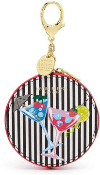 Henri Bendel Martini Glasses Coin Purse