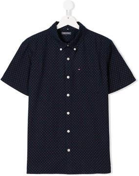 Tommy Hilfiger Junior TEEN polka dot button-down shirt